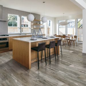 Tile used in kitchen and dining area | Boyle's Floor & Window Design