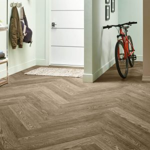 Charlestown Oak Luxury Vinyl Tile - Mocha | Boyle's Floor & Window Design