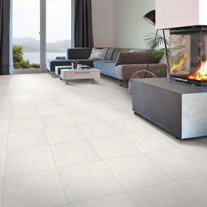 Perfect flooring solution for Living room with Hartsdale Safari Sands Tile | Boyle's Floor & Window Design