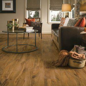 Kingston Walnut Luxury Vinyl Tile | Boyle's Floor & Window Design