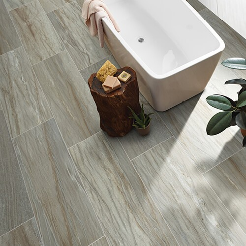 Sanctuary Bathroom-Tulum Tide | Tile Flooring | Boyle's Floor & Window Design