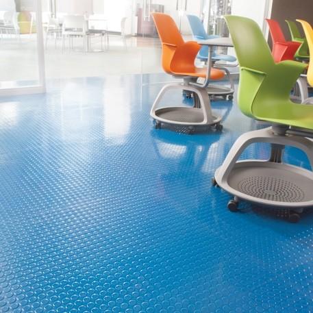 Commercial Rubber flooring | Boyle's Floor & Window Design