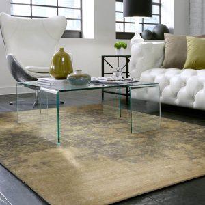 Living room with Karastan Bari Area Rug   Boyle's Floor & Window Design