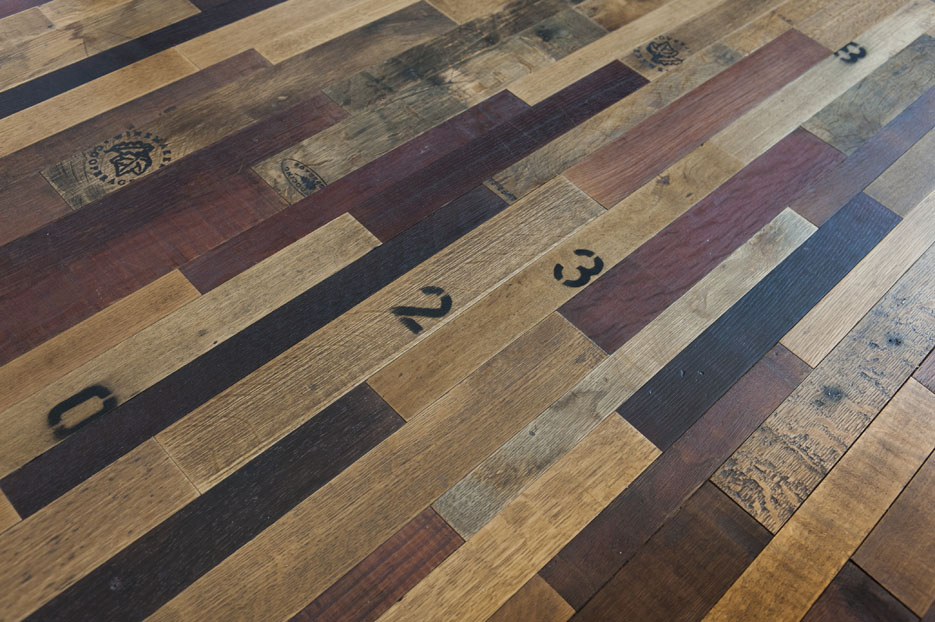 Wine Barrel Flooring | Eco friendly | Boyle's Floor & Window Design