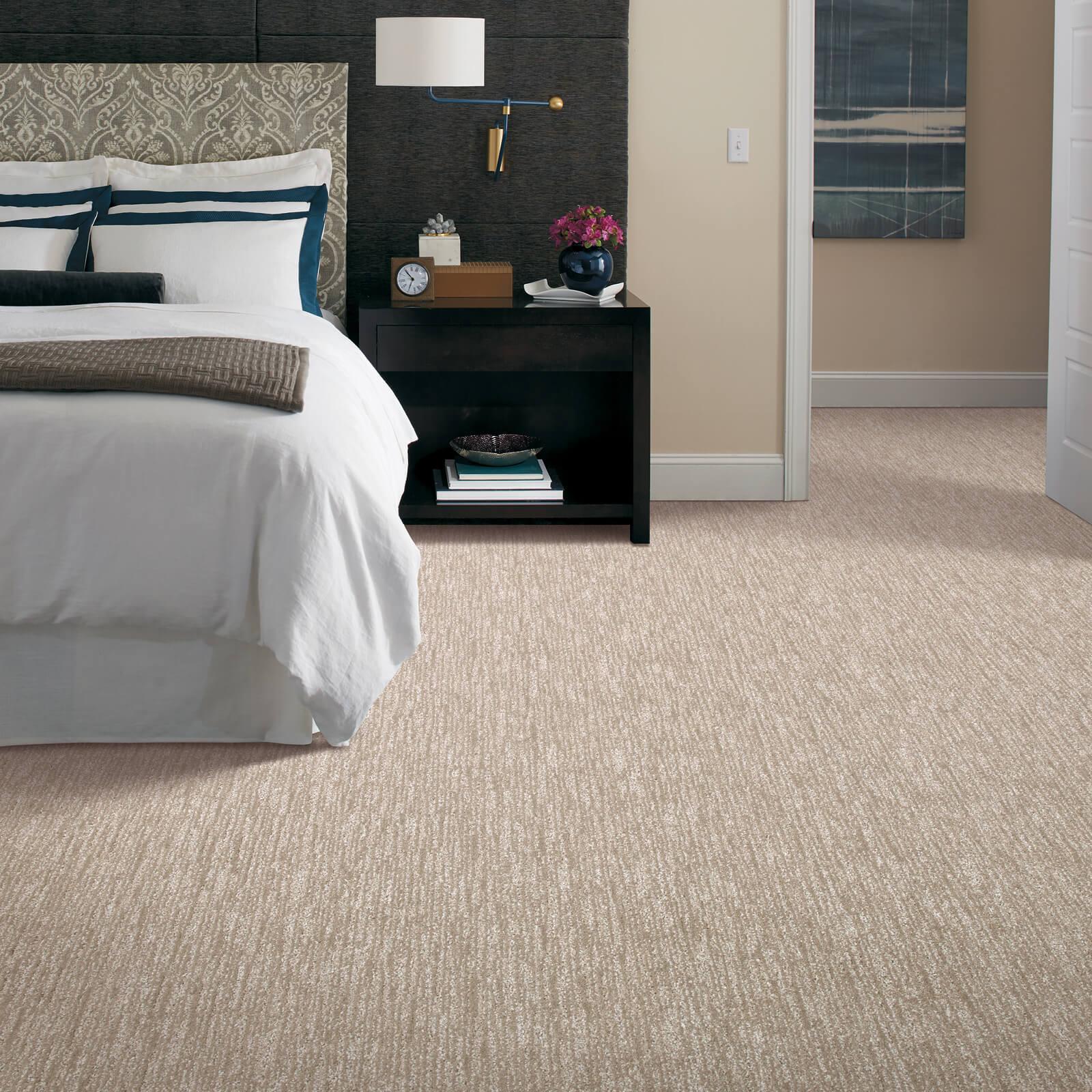 New carpet in bedroom | Boyle's Floor & Window Design