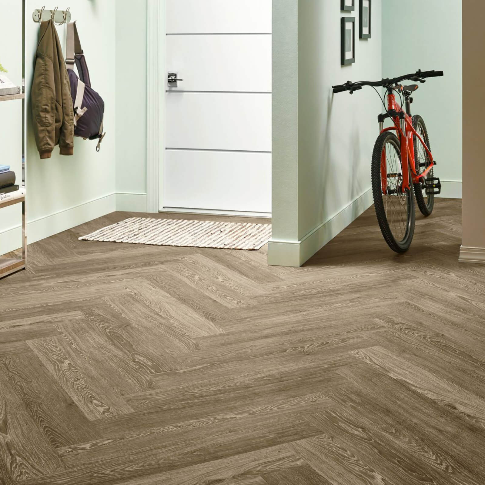 Bicycle on flooring | Boyle's Floor & Window Design