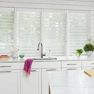 Sheers shades pirouette | Window treatment | Boyle's Floor & Window Design